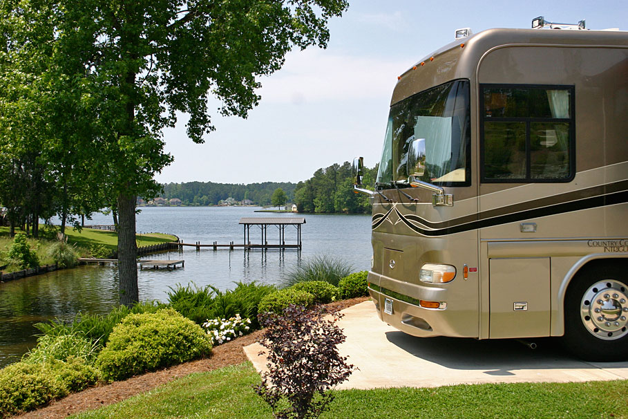 Campgrounds on Lake Greenwood, South Carolina