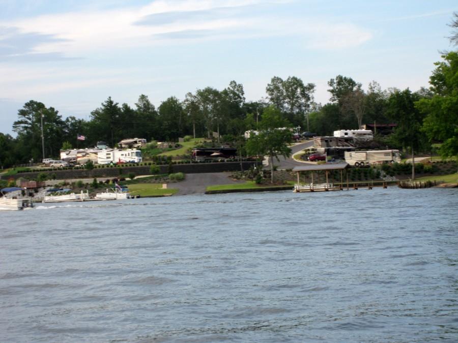 Cane Creek Motor Coach Resort On Lake Greenwood