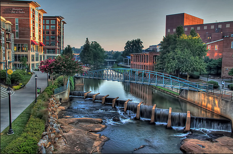 Downtown Greenville NC